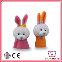 ICTI Factory high quality soft animal toys organic cotton gloves
