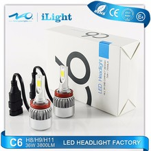 Used Cars good quality Ip67 Auto Lamp Led car lightH1/H3/H4/H7/13 /9004/9005/9006/9007head light Wholesale