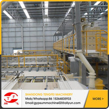 China gypsum board production line