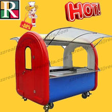 cart size, color and internal device can be customized with Electric accessories food truck for sale