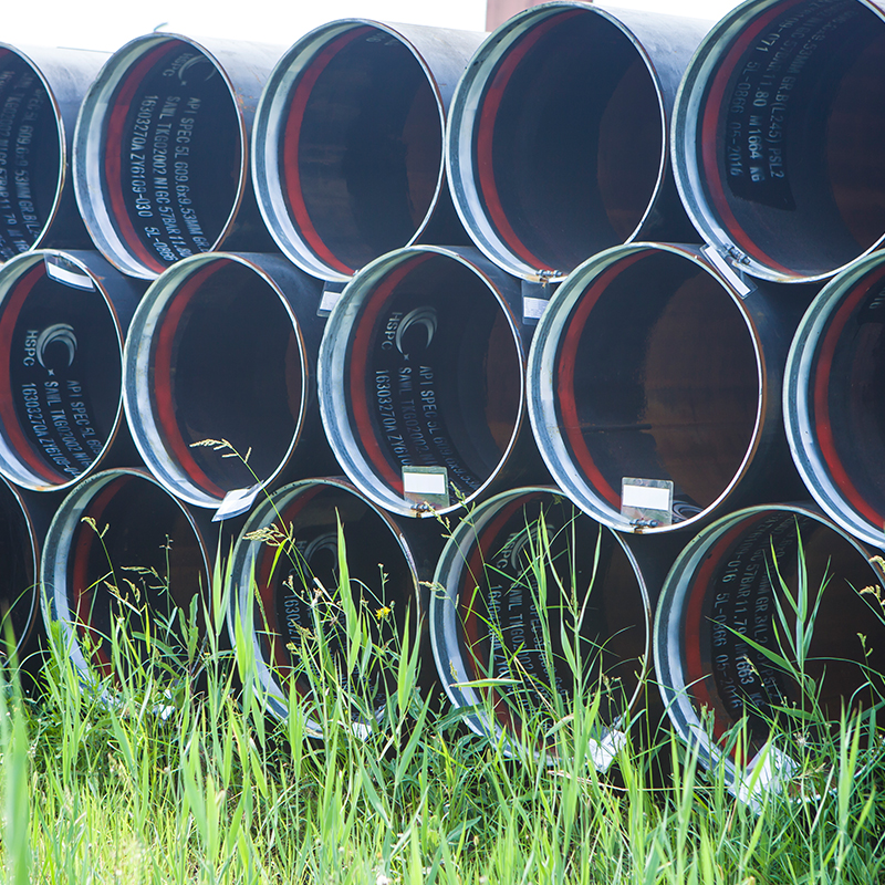 Factory direct sale non alloy large diameter steel pipe price
