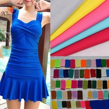 Stretch Swimsuit Fabric Moisture Wicking 75D Micro Fiber Polyester Spandex Knitted Fabric Dancing Dress Fabric