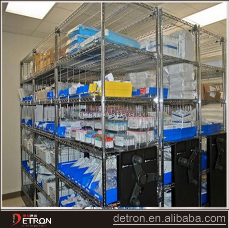 rust-proof durable iron laboratory storage rack