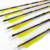 Mixed Camouflag Carbon Fiber Steel Arrows With 100gr Screw-in Points And Blazer Vanes