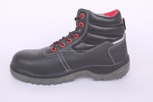 high quality cow leather, composite toe cap and kelvar midsole, pu outsole, SBP engineering working safety shoes