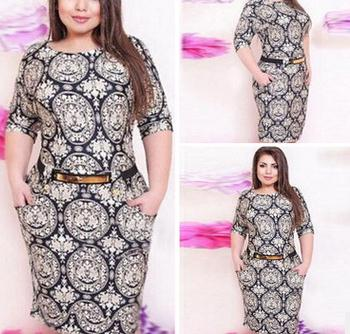 western plus size dresses picture,images & photos on Alibaba