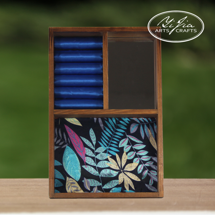 High End Glossy Handmade Wood Jewelry Boxes For Women