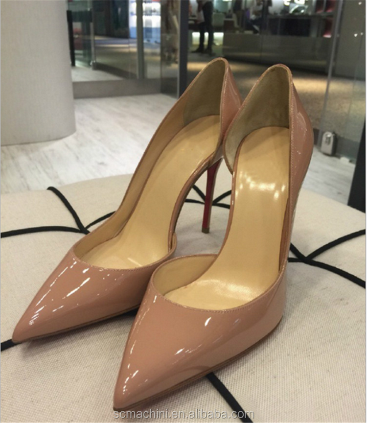 Chengdu shoes facotry classic women high heel fashion pumps pointed toe beautiful shoes