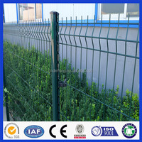 PVC coated high quality welded wire mesh panel fencing