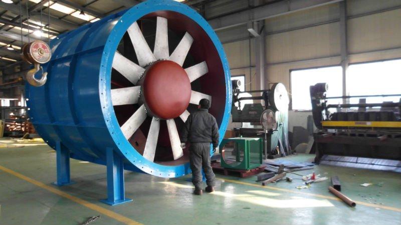 Vane Axial Fan : Ventilatore vaneaxial di galleria del vento fan id