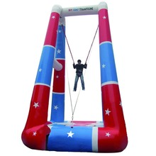 Customized durable theme park inflatable bungee jumping equipment for sale