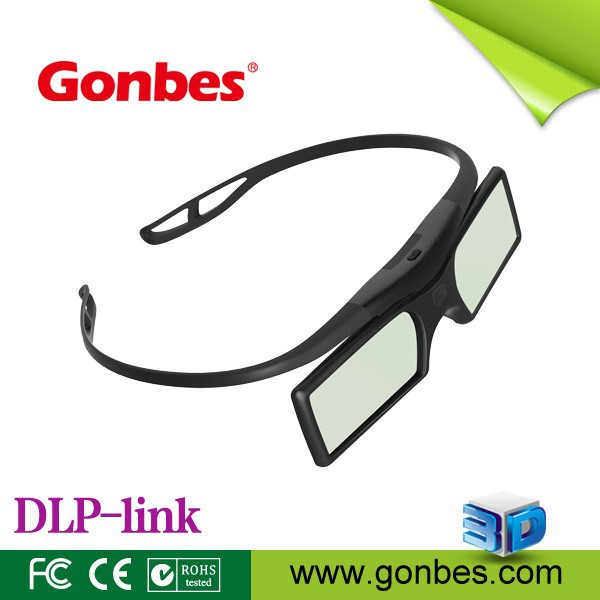 Universal super light 3D glasses with fancy glasses frame DLP LINK 3D shutter glasses
