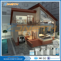 Cheap Japanese friendly factory price modular eco prefab homes