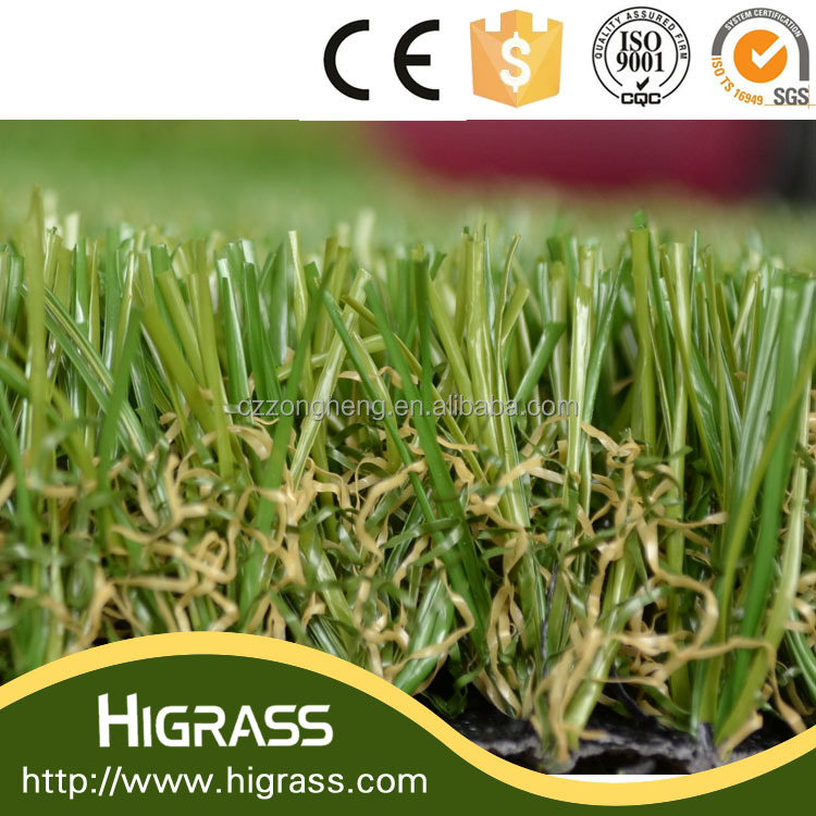 C-shape Soft Touch Feeling Artificial Grass for Garden Landscaping