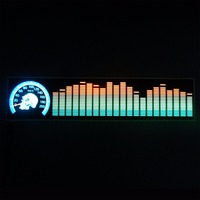 music or sound activated equalizer el car sticker