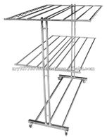 Heavy duty free standing stainless steel clothes hanger (EH 6000)