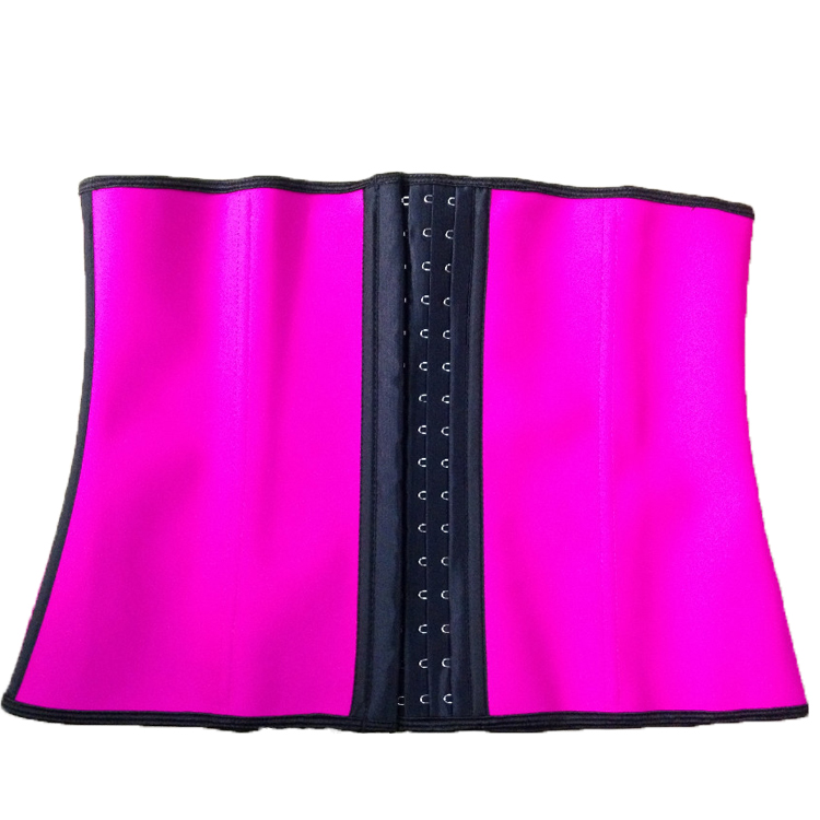 Women slimming super Latex Sport Girdle Waist Training Corset Hourglass Body Shaper