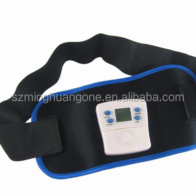 electric vibra shape fat reduce slimming massage belt