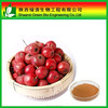 Hot sale Hawthorn fruit P.E. Hawthorn fruit powder