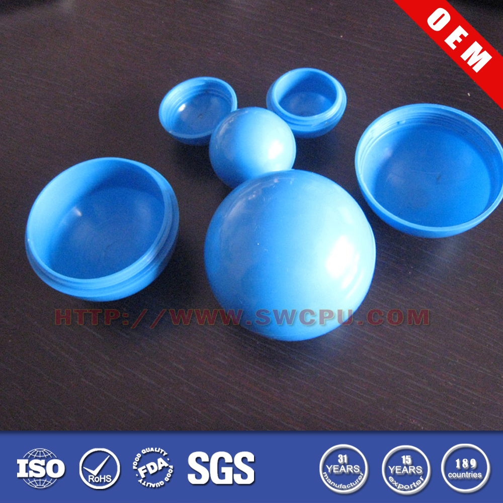Customized Split/Divisible Hollow Hemisphere Balls By Manufacturer