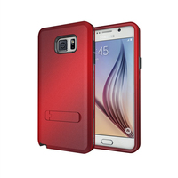 Amazon 3 in 1 Hybrid Combo TPU Plastic Armor Phone Case For Samsung Galaxy Note 5