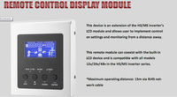 remote controller for PIP HS , MS inverter 12v and 24v LCD controller