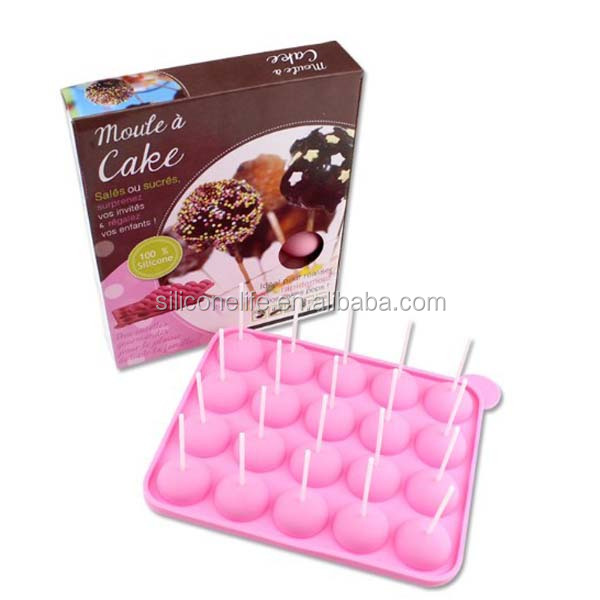 New design food standard candy silicone chocolate mold