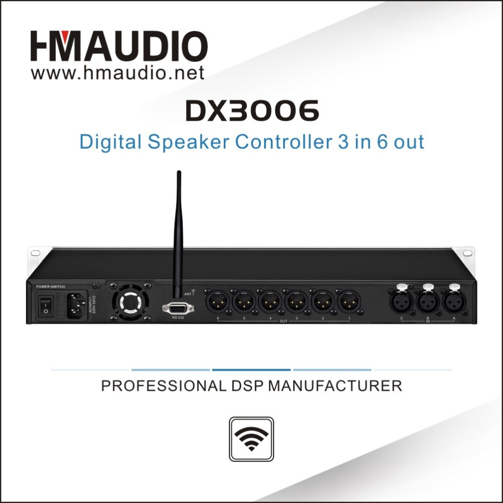 DX3006 Digital DSP Speaker Management Audio Processor