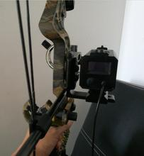 New compound bow archery outdoor hunting laser rangefinder with adjustable laser base