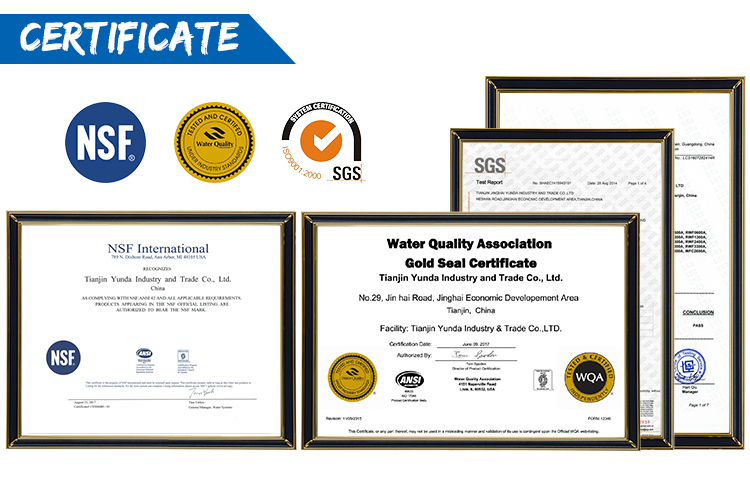 NSF Certified Compatible Auto-Coffee Machine Water Filter Cartridge