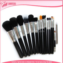 15pcs make up brush set factory