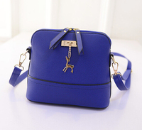 Wholesale women bag business stereotypes Korean fashion mobile leather bag