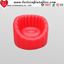 Cheap Pvc flocking inflatable sofa inflatable Chair and sofa