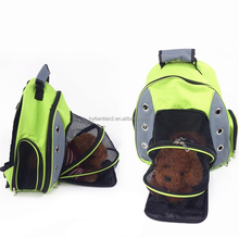 Multiple Deluxe Dog Carrier Mesh Travel Backpack Double Shoulders Straps Dog Bag