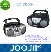 Wholesale portable cd radio,boombox led player