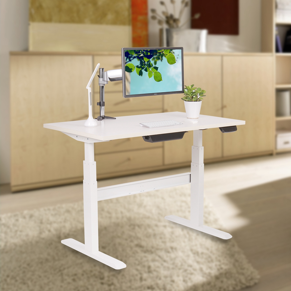 Modern Corner Office Furniture China Office Table Size Standing Desk Adjustable Picture