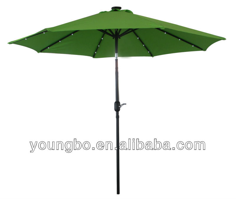 garden umbrella with light and strong pole