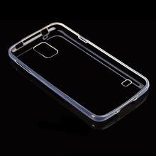 S5002 For Samsung Galaxy S5 Ultra Slim Soft Phone Case , For Samsung Galaxy S5 i9600 Transparent TPU Phone Case