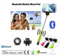 2014 Topsale Extendable Stainless Steel Z07-5 Bluetooth Monopod, Wireless monopod, bluetooth Selfie Stick