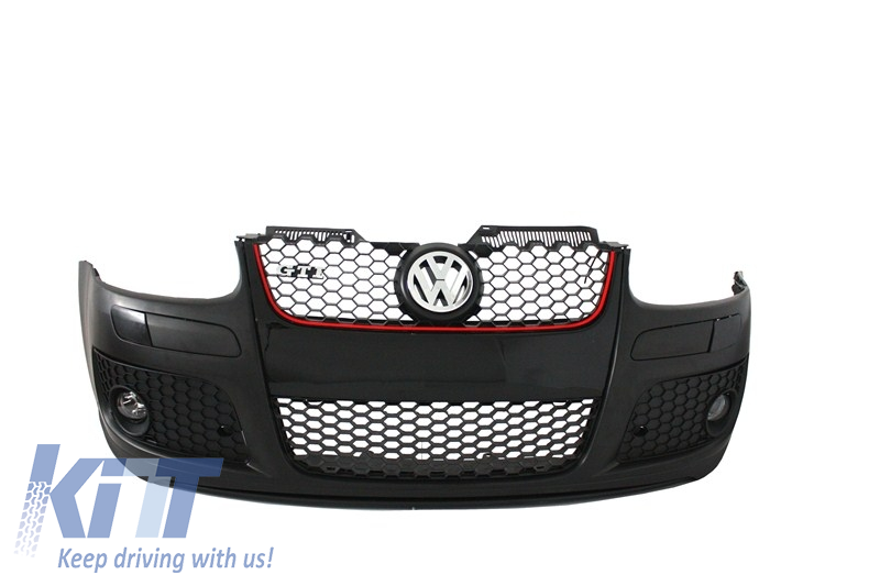 Golf V 5 GTI 2003-2010 GTI Design Jetta 05-10 Bumper Central Grille