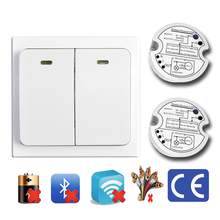 OEM self powered wireless electric wall switch