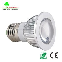 High Lumen Epistar Mr11 E27 3W LED Spotlight 24V 230V