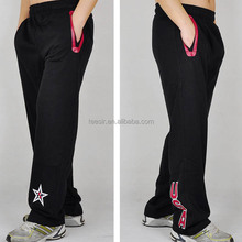 Wholesale USA Basketball Sports Cotton Fleece Pants with Elastic Band Waist