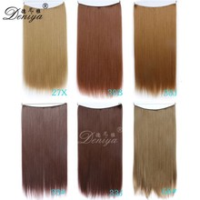2016 New products easy wear remove brazilian hair flip hair extensions