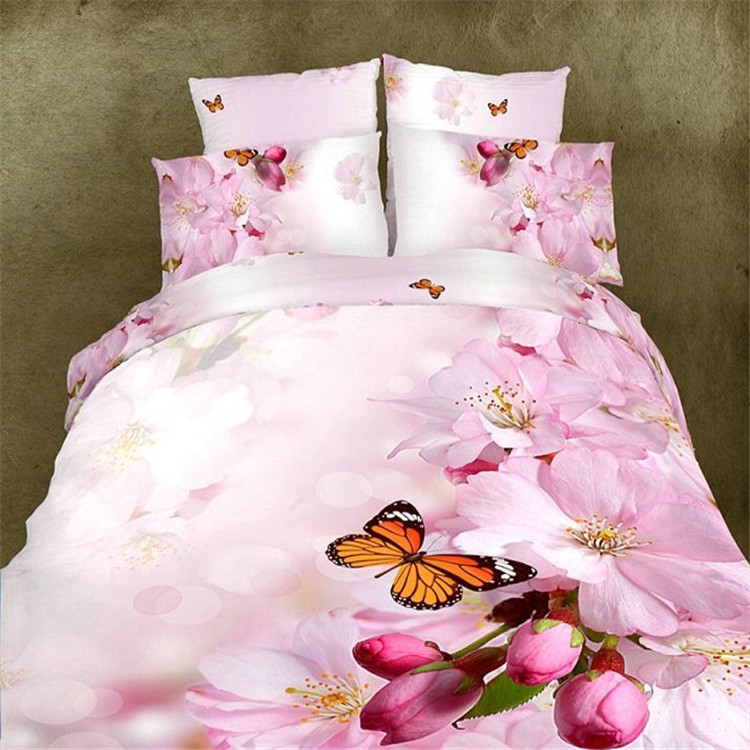 Best quality king printing fitted bedspreads king/oversized king bedspread