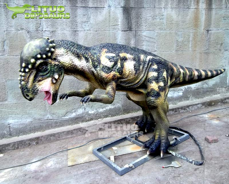 Playground Amusement Robotic Dinosaur Model