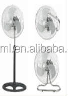 "strong wind 18"" Industrial stand Fan 3 in 1"