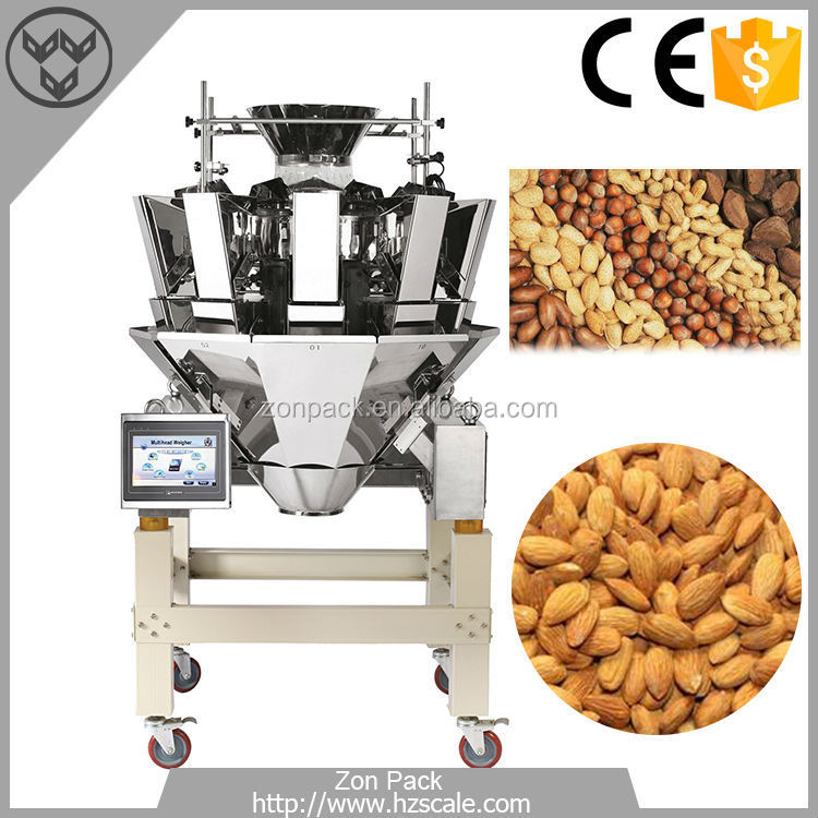 Combination Multihead Weigher Namkeen Pouch Packing Machine -ZH-A10