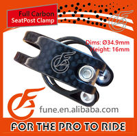 34.9mm Road Cycle MTB Bicycle Carbon Seat Post Clamp