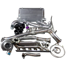 Best quality Manifold Downpipe Intercooler Kit for bmwE46 M52 Engine with best price